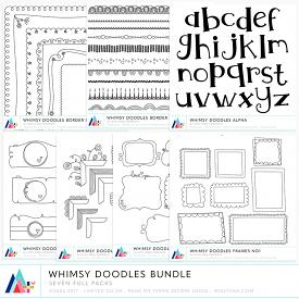 Bundle :: Whimsy Doodles (CU)