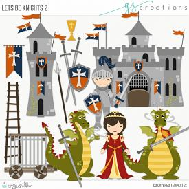Let's Be Knights2 Layered Templates (CU)