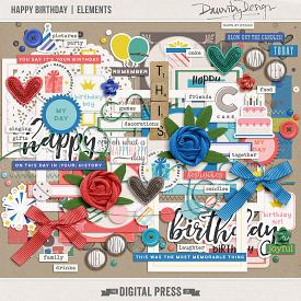 Happy Birthday | Elements