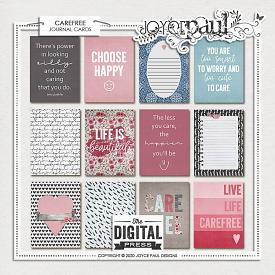 Carefree | Journal Cards