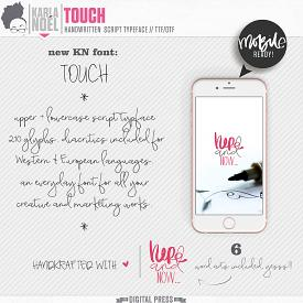 KN Font - Touch