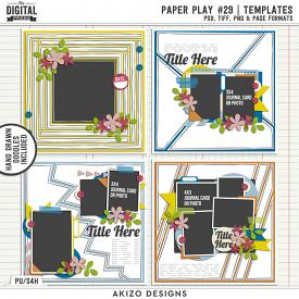 Paper Play 29 | Templates