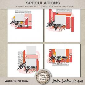 Speculations | Templates