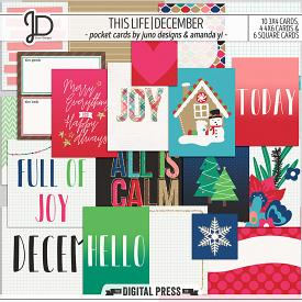 This Life | December - Pocket Cards