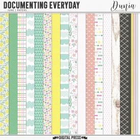 Documenting Everyday | June - Papers