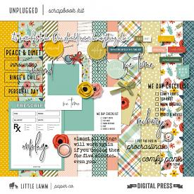 Unplugged | Scrapbook Kit