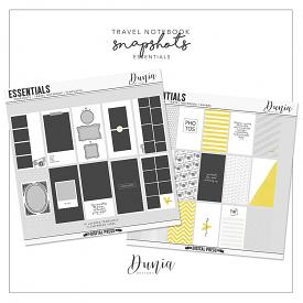 Essentials | Snapshots - Travel Notebook Collection
