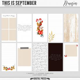 This is September | Traveler's Notebook