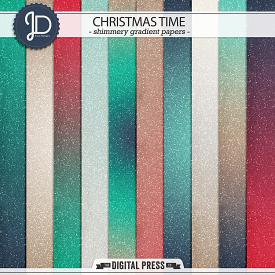 Christmas Time | Shimmery Gradients