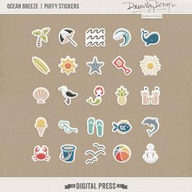 Ocean Breeze | Puffy Stickers