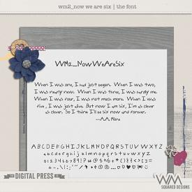 wm2_Now We Are Six | The Font