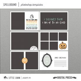 Spellbound│Photoshop Templates