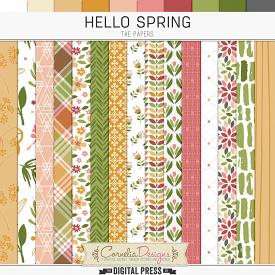 HELLO SPRING | PAPERS