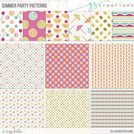 Summer Party Layered Patterns (CU)