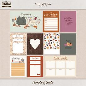 Autumn Day | Journal Cards