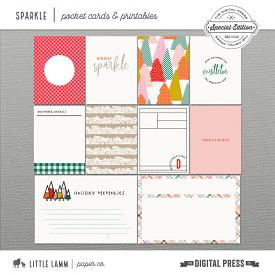 Sparkle | Pocket Cards and Printables