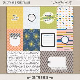 Crazy Town | Pocket Cards