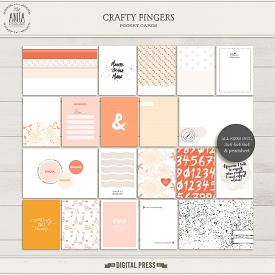 Crafty fingers | Pocket cards