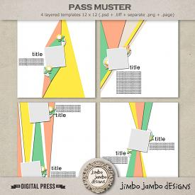 Pass muster | Templates