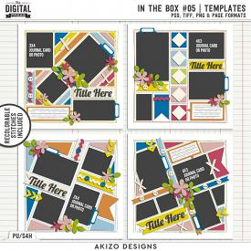 In The Box 05 | Templates