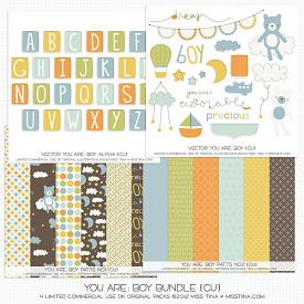 Bundle :: You Are: Boy (CU)