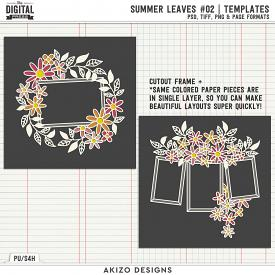 Summer Leaves 02 | Templates
