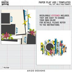 Paper Play 03 | Templates