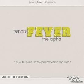 Tennis Fever | The Alpha