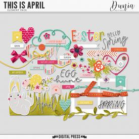 This is April   Elements