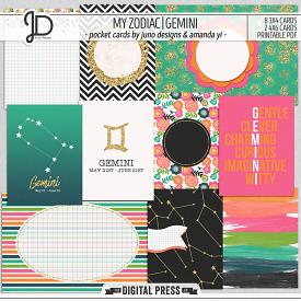 My Zodiac | Gemini - Pocket Cards