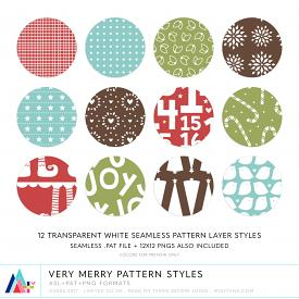 Very Merry Pattern Styles (CU)