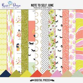 Note to self: June | Papers