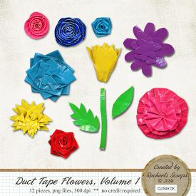 Duct Tape Flowers, Volume 1