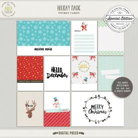 Holiday Magic | Pocket cards
