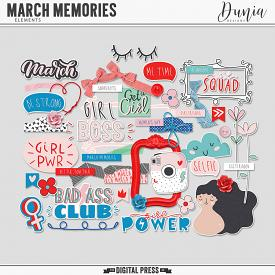 March Memories | Elements