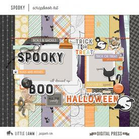 Spooky | Scrapbook Kit