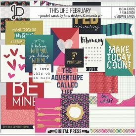 This Life | February - Pocket Cards