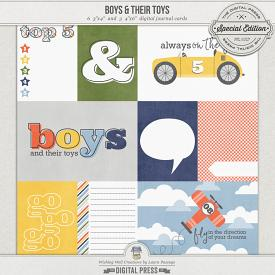 Boys & Their Toys | Journal Cards