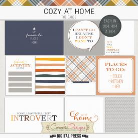 COZY AT HOME | POCKET CARDS
