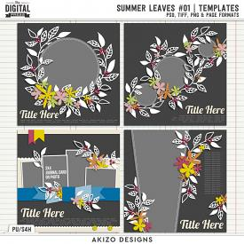 Summer Leaves 01 | Templates
