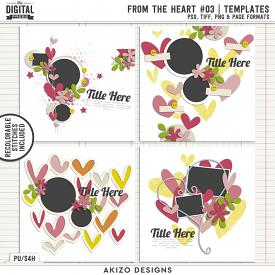 From The Heart 03 | Templates