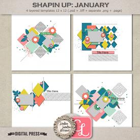 Shapin up: January | Templates