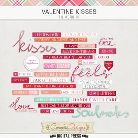 VALENTINE KISSES | WORDBITS