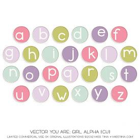 You Are: Girl Alpha (CU)