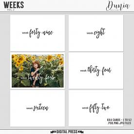 Weeks | Vol.3