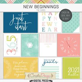 NEW BEGINNINGS | POCKET CARDS