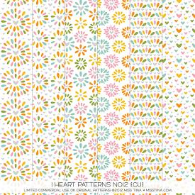 I Heart Patterns No12 (CU)