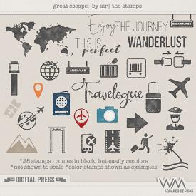 Great Escape: By Air   The Stamps