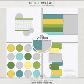 Stitched Down (Volume 7)   Templates
