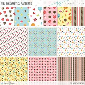 You So Sweet Patterns (CU)